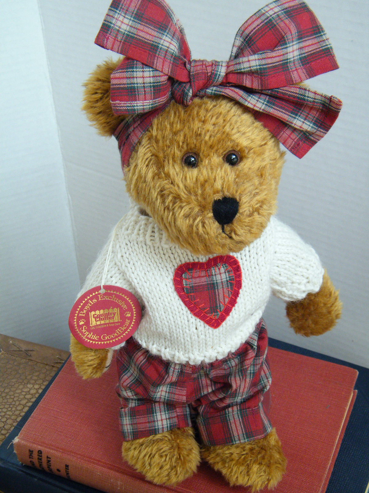 "Boyds Bears ""Sophie Goodbear"" #94972CC- 10"" Country Clutter Exclusive -NWT- 2000"