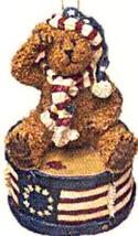 "*Boyds Bearstone Ornament ""Yankee Doodlebear"" #257048*1E* NIB* 2004* Ret... - $16.99"