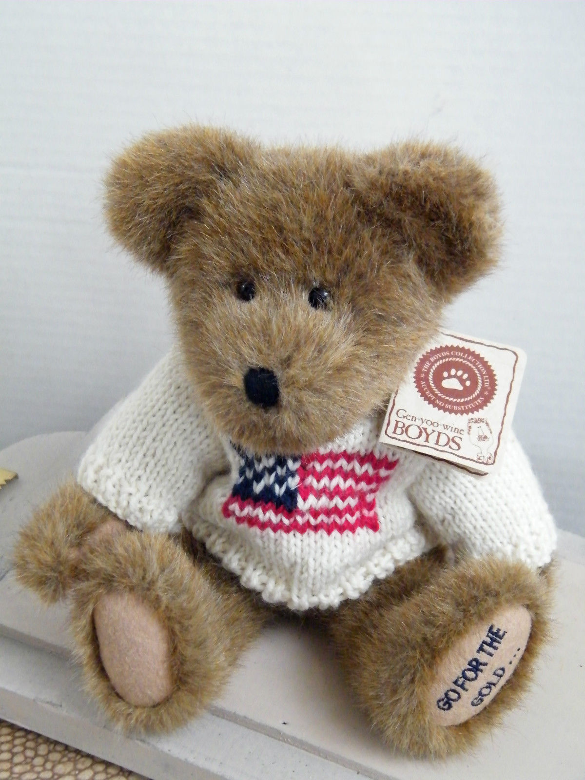 """Boyds Bears """"Chance Furgold"""" 10"""" Welcome Home Exclusive -#94537WH- NWT-2002"""