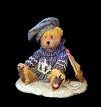 "Boyds Bears Bearstone ""Christian by the Sea"" #2012- 1993-  NIB-  Retired image 1"