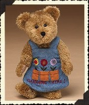 "Boyds Bears ""Miss Pottsalot"" 8"" Plush Garden Bear - #903061 - NWT- 2005 -Retired image 2"