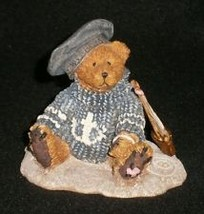 "Boyds Bears Bearstone ""Christian by the Sea"" #2012- 1993-  NIB-  Retired image 2"