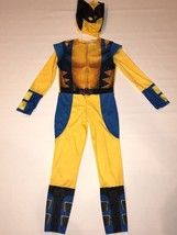 Avengers Wolverine Halloween Costume  Boys Size L 10 12 Pretend Play Dis... - $9.99