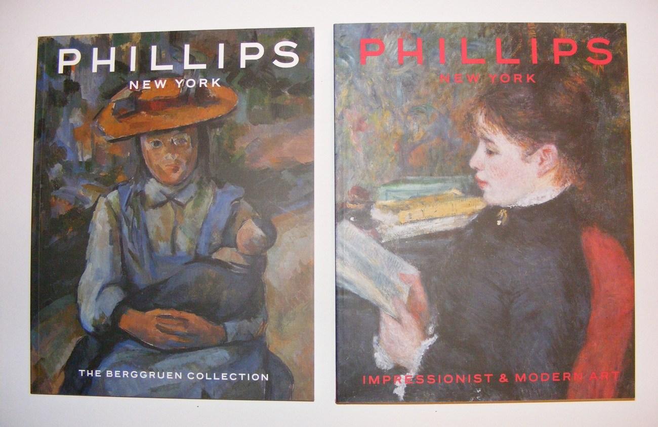 Phillips New York Art Catalogue