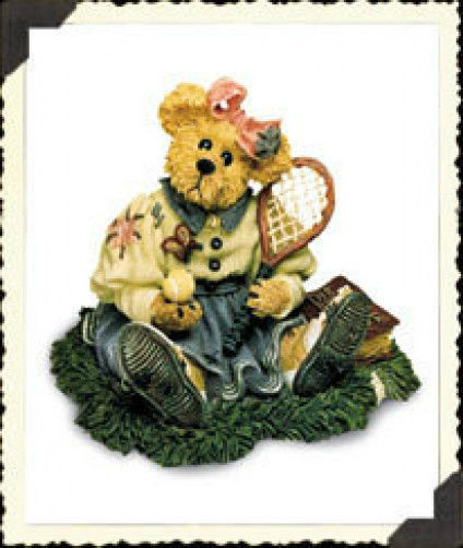 "Boyds Bears ""Chrissie.. Game, Set, Match"" Bearstone* #227717* NIB*1999*Retired image 1"