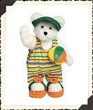 "Boyds Bears ""Sandy Sanditoes"" 10"" Plush Bear* #917443*New* 2002* Retired image 1"
