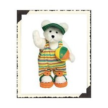 "Boyds Bears ""Sandy Sanditoes"" 10"" Plush Bear* #917443*New* 2002* Retired image 3"