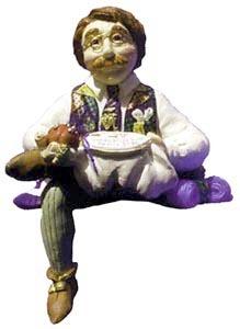 """Shenandoah Designs """"Keeper of Needlework""""Style #1438* Shelf Sitter* NIB*Retired image 2"""