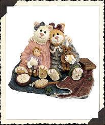"Boyds Bears Purrstone ""Catarina & Sassy..Purrfect Friends"" #371011-1E -NIB- 2000 image 2"