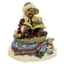 "Boyds Bearstone Musical ""Bailey...The Night Before Christmas"" #270501* 1... - $29.99"