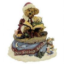"Boyds Bearstone Musical ""Bailey...The Night Before Christmas"" #270501* 1998* NIB - $29.99"