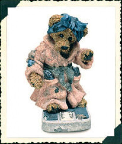 "Boyds Bearstone  ""Ms. Griz... Saturday Night""  Style #2284-1ST EDITION- NIB-1996"