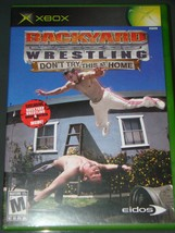 XBOX - BACK YARD WRESTLING - DONT TRY THIS AT HOME (Complete with Instructions) image 1