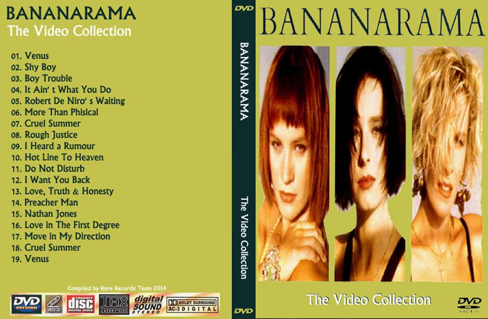 BANANARAMA The Video Collection Bootleg DVD Rare Hard To Find