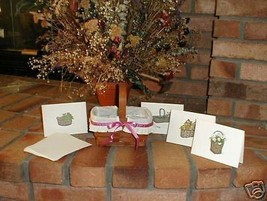 Longaberger Mothers Day Basket Combo Complete Rare Art Included Mint New - $47.47