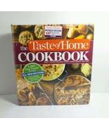 TASTE OF HOME COOKBOOK 1,380 BUSY FAMILY RECIPES BONUS BOOK INCLUDED  - $14.69