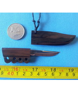 Mini Knife Philippine bolo  pendant necklace miniature blade tribal Cl... - $12.62