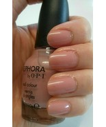 Sephora by OPI NONFAT SOY HALF CAFF Rosey Nude Tan Creme Nail Polish SE ... - $8.70