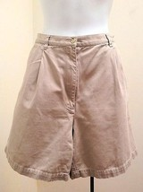 Ralph Lauren 12 Shorts Khaki Beige Cotton Walking Pants Pockets - $19.58