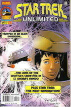 Star Trek Unlimited Comic Book #3 Marvel Comics 1996 VERY FINE - $2.99