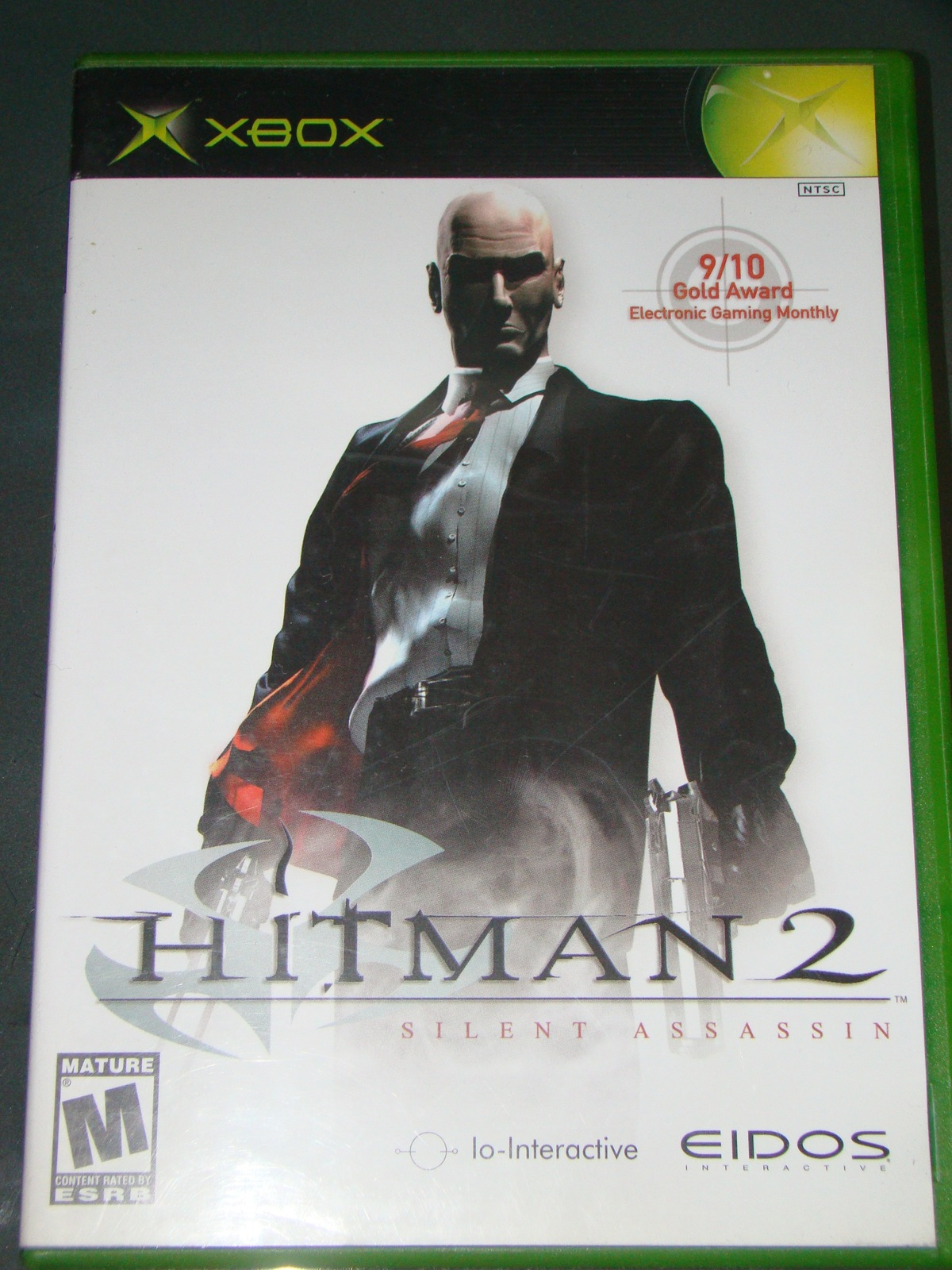 XBOX - HIT MAN 2 - SILENT ASSASSIN (Complete with Instructions)