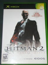 XBOX - HIT MAN 2 - SILENT ASSASSIN (Complete with Instructions) image 1