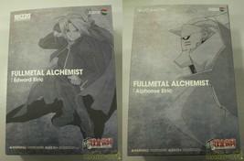 Medicom Toy Fullmetal Alchemist Alphonse Edward & Alphonse Elric Brother... - $386.40