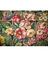 Kaufman Colorful Flowers in Baskets Deco Fabric 2 yd - $15.95