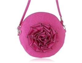 Multi-function Rose Round Bag (Rose) - $14.76