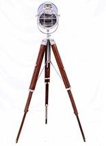 Nautical Standing Studio Tripod Floor Lamp Search Light / Spot Light By Nautical - $167.31