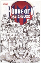 House of M Sketchbook Promo Comic Book - Quesada Coipel  Larocca 2005 - $3.55