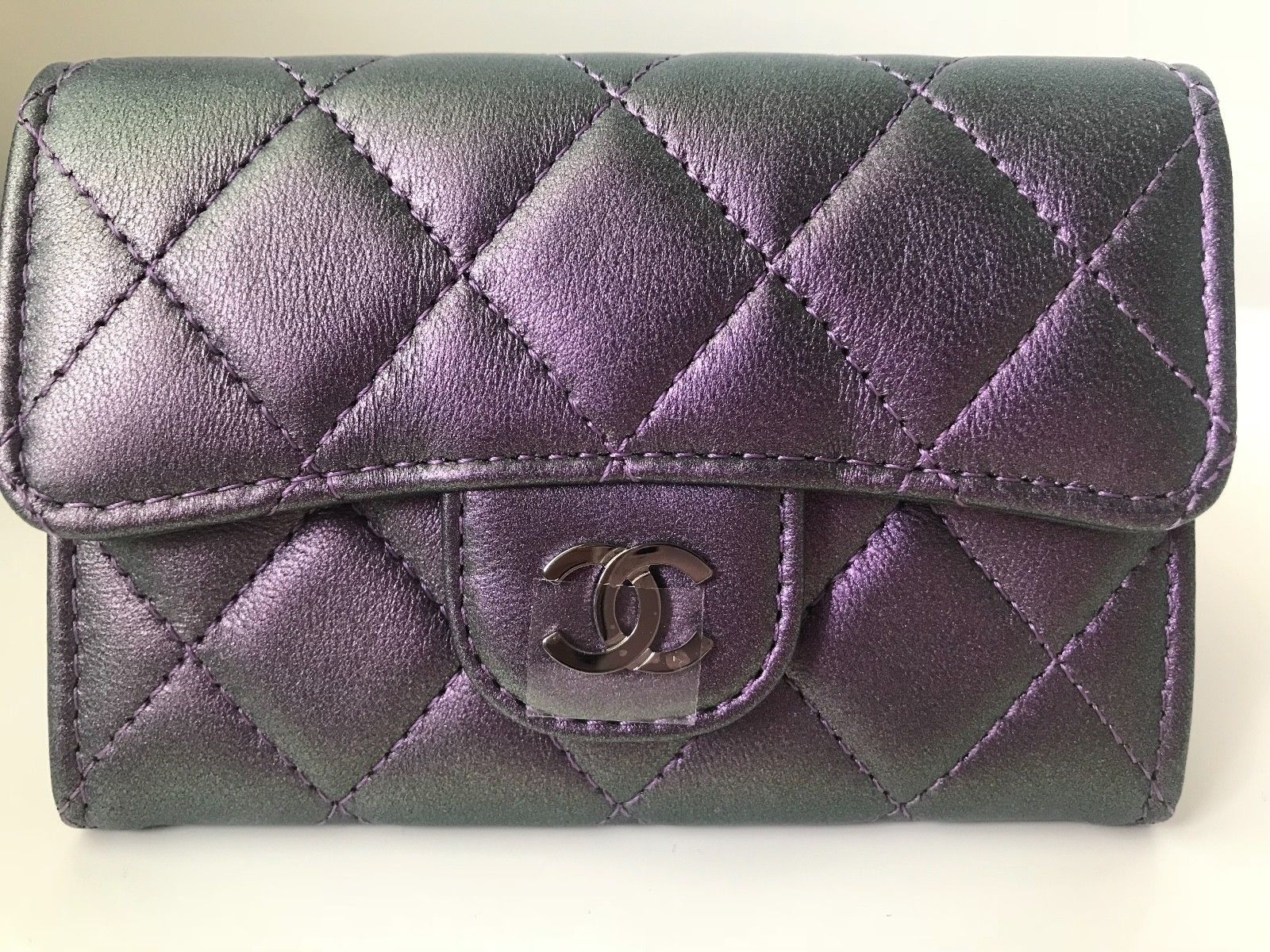 4f810cd9fbff Chanel Iridescent Purple Mermaid O-Card and 13 similar items