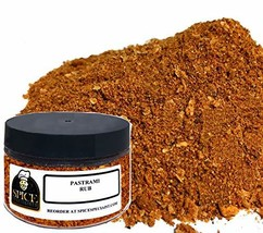 Spice Specialist Pastrami Rub Blend 4 oz Jar holds 3.5oz - KOSHER - $18.95