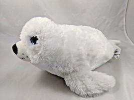 "The Petting Zoo White Seal Plush 16"" Stuffed Animal - $9.13"