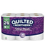 Quilted Northern Ultra Plush® Toilet Paper, 12 Double Rolls, Bath Tissue - $40.21