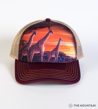 "GIRAFFES ""SUNDOWN"" TRUCKER HAT THE MOUNTAIN - $22.20"