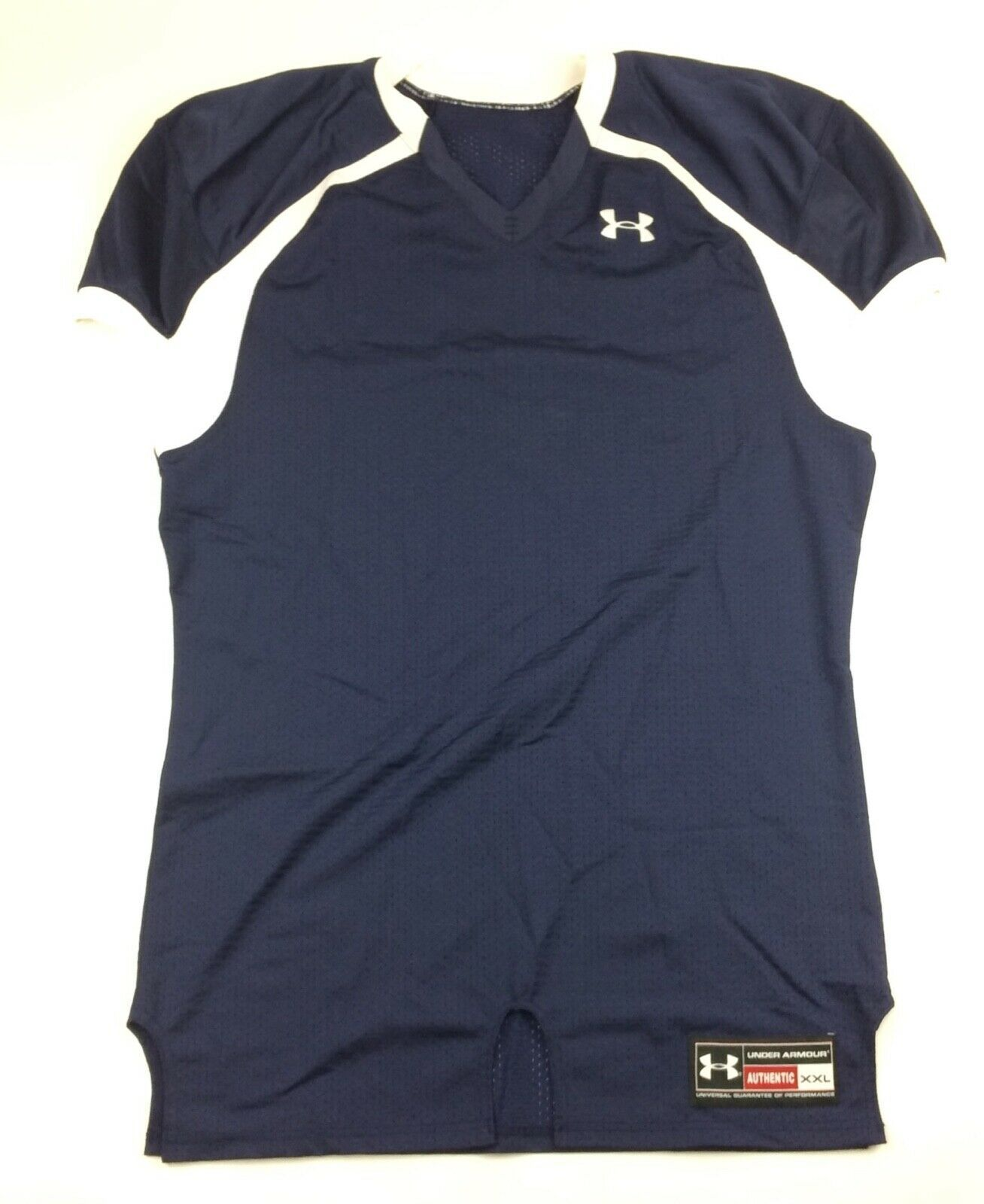 Primary image for New Under Armour Performance Football Jersey No Numbers Men's XXL Navy White