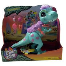 "CAVE CLUB TYRASAURUS T-Rex 12"" Dinosaur Saddle & Accessories Dolls Can R... - $60.42"