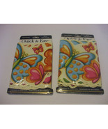 2 Packaged Butterfly Wallpaper Border Quick & Easy Prepasted 5 Yards ( 1... - $19.79