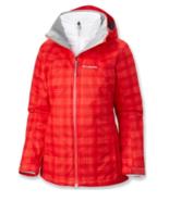 NEW Columbia Women  Whirlibird III 3-IN-1 interchange jacket Red Plaid, ... - $114.00