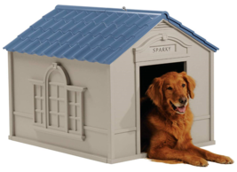 Outdoor Dog House Durable Water Resistant Backyard Pet Home Patio Deck C... - $129.99