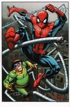 Todd Nauck SIGNED Spiderman vs Doc Ock Marvel Comic Art Print #89/200 - $29.69