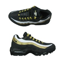 Nike Air Max 95 OG Black Metallic Gold Size 11 Mens Running Shoes AT2865... - $138.55