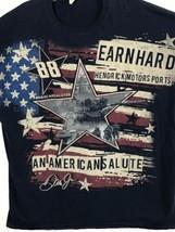 Dale Jr T Shirt Mens 2XL Hendrick Motor Sports Salute to Troops Tank Star - $14.84