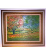 LANDSCAPE-- MAPLE TREE BY FLORENCE LONSFORD - $349.95