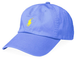New Mens Polo Ralph Lauren Island Blue Classic Chino Sports Cap Hat One Size - $29.99