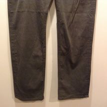 Men's Banana Republic Stretch Green Pants Sz 36R image 3