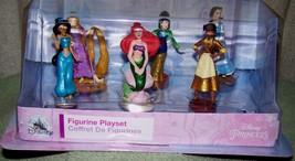 Disney Store Disney Princesses Figurines Playset Set Of 6 New - $17.50