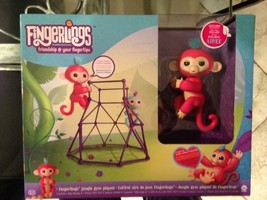 "FINGERLINGS AUTHENTIC WOWWEE Baby Monkey Toy - ""Aimee"" (Coral Pink) - $58.28"