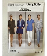 Sewing Pattern Misses Simplicity 8295 R5 14 16 18 20 22 New Top Dress Tu... - $5.54